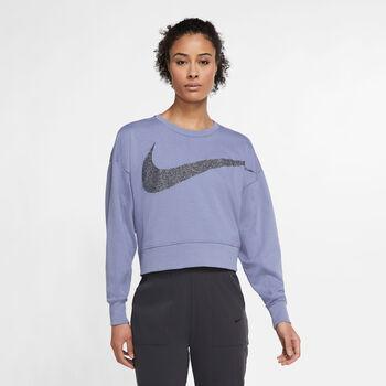 Nike Dri-FIT Get Fit Sparkle top Dames Blauw