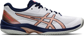Asics Court Speed FF Clay zaalschoenen Dames Wit