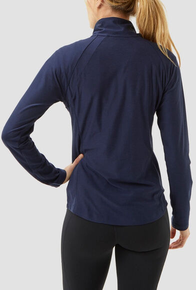 Space Dye Half Zip Long Sleeve shirt