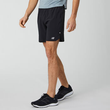 New Balance Impact Run 7in short Heren Zwart