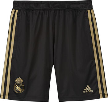 ADIDAS Real Madrid jr training short 2019-2020 Jongens Zwart