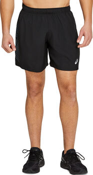 ASICS Icon 7-inch short Heren Zwart