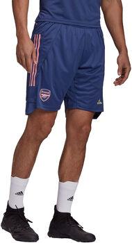 adidas Arsenal Training short 20/21 Heren Blauw