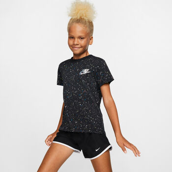Nike Sportswear Starry Night kids tight Meisjes Zwart