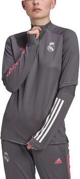 adidas Real Madrid Training Longsleeve shirt 20/21 Dames Grijs