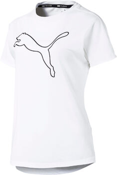 Puma Cat shirt Dames Wit