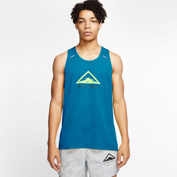 Nike Rise 365 Trail tank Heren Blauw