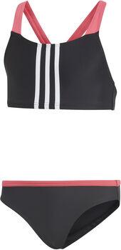 Adidas BIK 3-stripes jr bikini Meisjes Zwart
