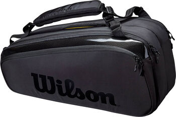 Wilson Super Tour 9 Pack Pro Staff tennistas Zwart