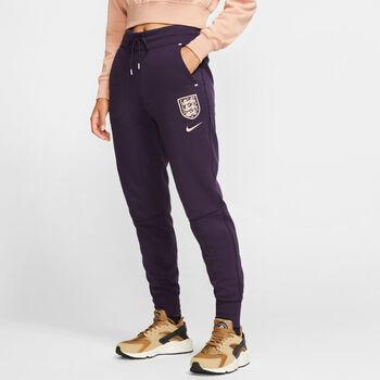 Nike Engeland Sportswear Tech Fleece broek Dames Paars