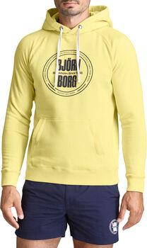 Björn Borg Sport hoodie Heren Geel