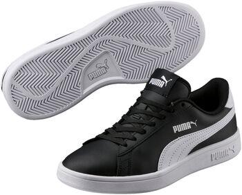 Puma Smash V2 kids sneakers Jongens Zwart
