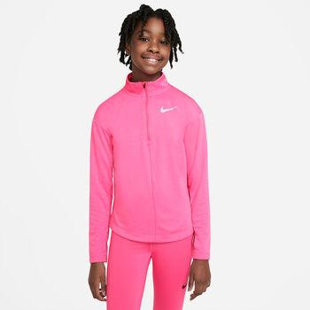 Nike 1/2-zip kids top Jongens Rood