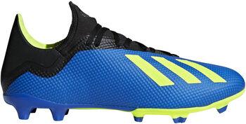 ADIDAS X 18.3 FG voetbalschoenen Blauw