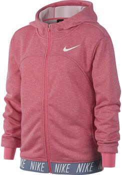 Nike Dry Studio hoodie Meisjes Rood