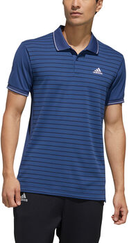 adidas HEAT.RDY Colorblocked polo Heren Blauw