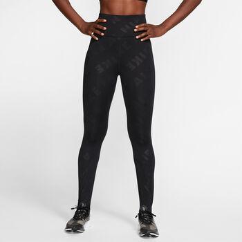 Nike Air 7/8 Running tight Dames Zwart