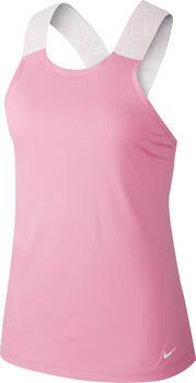 Nike Pro top Dames Roze
