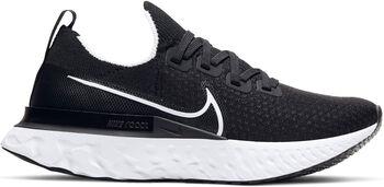 Nike React Pro Flyknit hardloopschoenen Dames Zwart