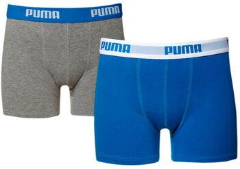 Puma Basic kids boxer (2 paar) Jongens Blauw