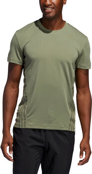 adidas AEROREADY 3-Stripes shirt Heren Groen
