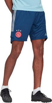ADIDAS Ajax trainingsshort 2020/2021 Heren Blauw