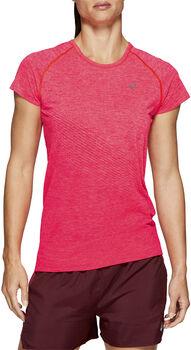 Asics Seamless Texture shirt Dames Roze