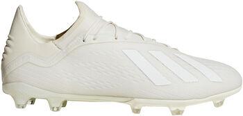 ADIDAS X 18.2 FG voetbalschoenen Wit