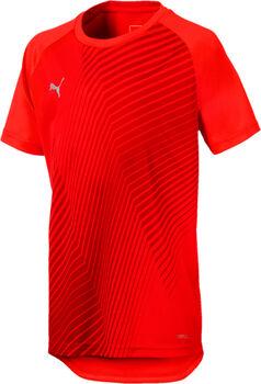Puma Graphic jr shirt Jongens Rood