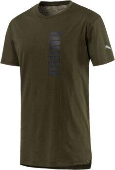 Puma Energy Triblend Graphic shirt Heren Zwart