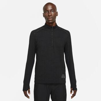 Nike Dri-FIT Element Run Division top Heren Zwart