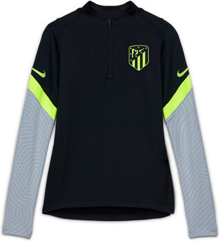 Nike Atlético Madrid Strike Drill kids top 20/21 Jongens Zwart