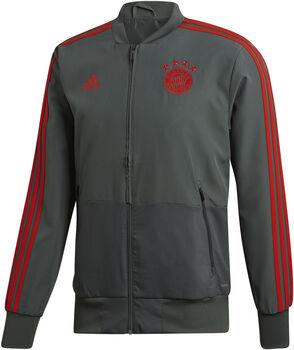 Adidas FC Bayern München Presentatie jack Heren Zwart