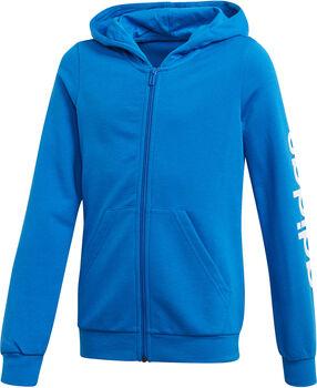 adidas Linear Full Zip vest kids Meisjes Blauw