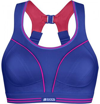 Shock Absorber Ultimate Run sportbeha Dames Blauw