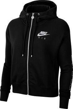 Nike Air Full Zip hoodie Dames Zwart