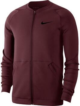 Nike Pro Fleece jack Heren Rood