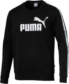 Puma Tape Crew sweater Heren Zwart
