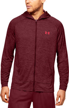 Under Armour Tech 2.0 FZ hoodie Heren Rood