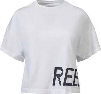 Reebok Gymana Loose shirt Dames Wit