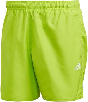 adidas CLX Solid zwemshort Heren Geel