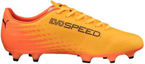 Puma - Evospeed 17.4 FG voetbalschoenen - Unisex - Voetbalschoenen - Geel - 39