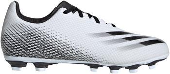adidas X Ghosted.4 Flexible Ground voetbalschoenen Heren Wit