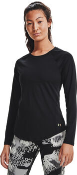 Under Armour Rush shirt Dames Zwart