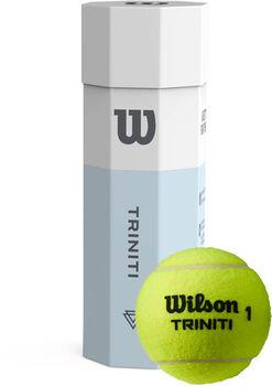 Wilson Trinity 3-pack tennisballentube Geel