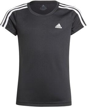 adidas Designed 2 Move 3-Stripes T-shirt Zwart