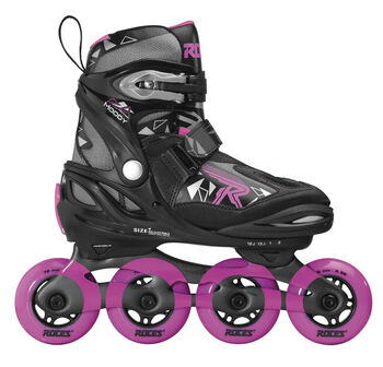 Roces Moody Tif skates Meisjes Zwart