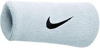 Nike Swoosh Doublewide polsbandje Wit
