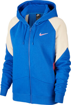 Nike Sportswear Full Zip hoodie Dames Blauw