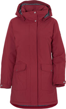 DIDRIKSONS Bliss parka Dames Rood